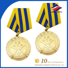 Factory direct sale high quality custom honor medals